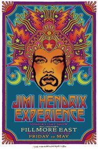 Jimi Hendrix at Fillmore