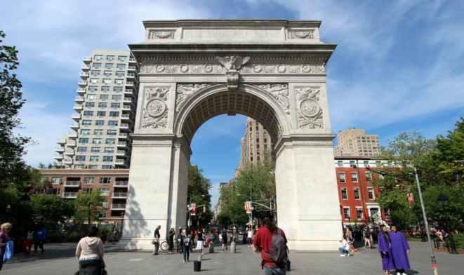 film girati a New York-Washington-square-park