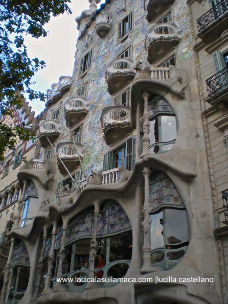 Quartieri di Barcellona cosa vedere _Casa Batlò