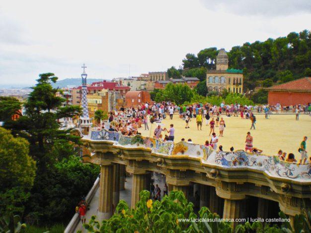 Parc Güell massoneria e magia _Terrazza