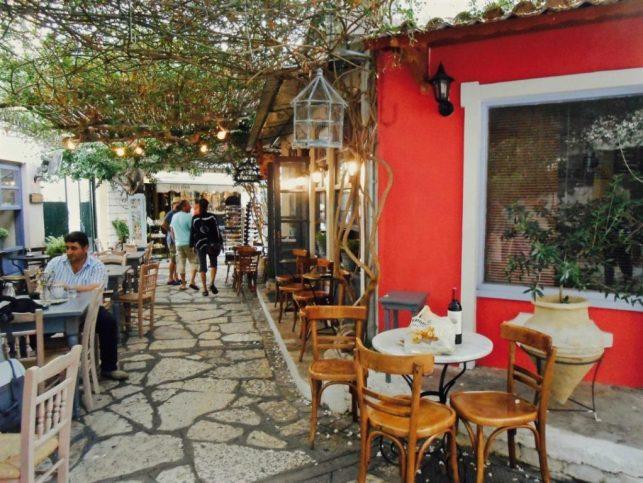 cosa vedere in Epiro Grecia - vicolo a Preveza