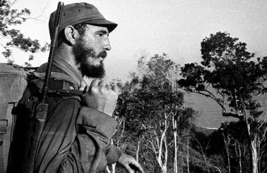 Korda foto rivoluzione Cuba - Fidel sulla Sierra maestra