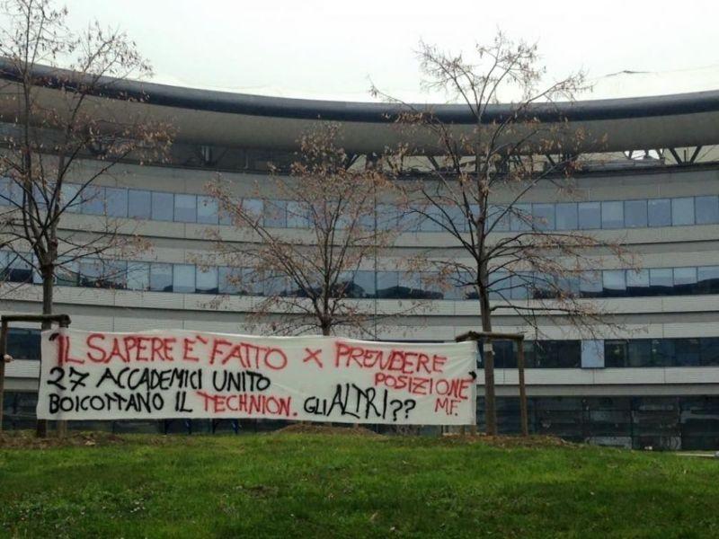 Decolla in Italia il boicottaggio accademico di Israele