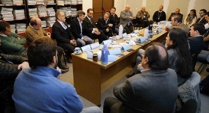 Jueces, obispos e intendentes se reunieron en Morón por el nacotráfico