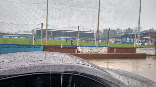 Se suspendió el partido entre Ituzaingo y Atlas por el diluvio