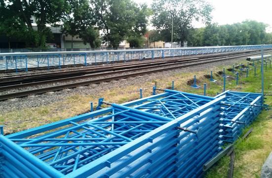 La estación Ituzaingó del Sarmiento tendrá andenes provisorios durante un año
