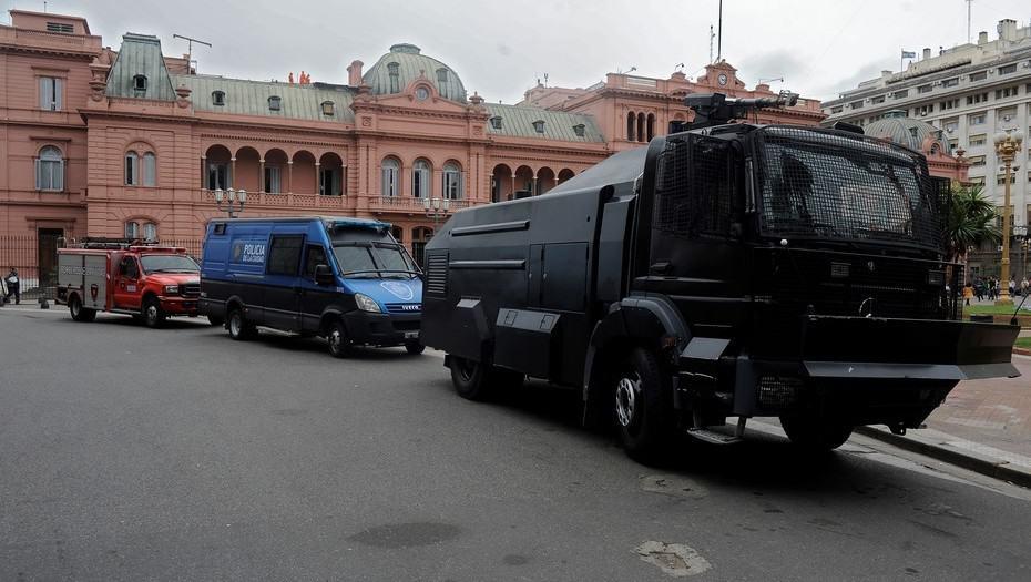 Amenaza de bomba en la Casa Rosada