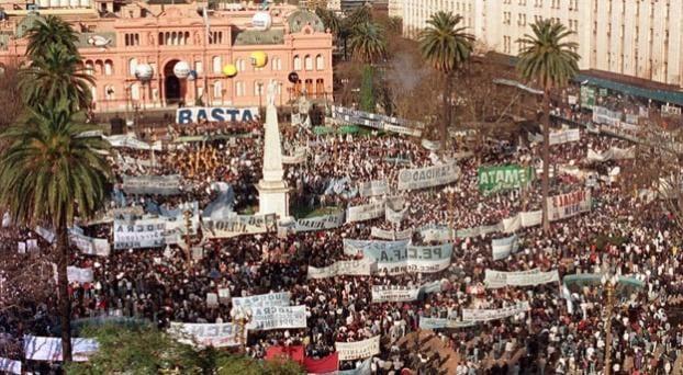 Convocan a Plaza de Mayo hoy a las 19 hs contra el encarcelamiento de dirigentes opositores