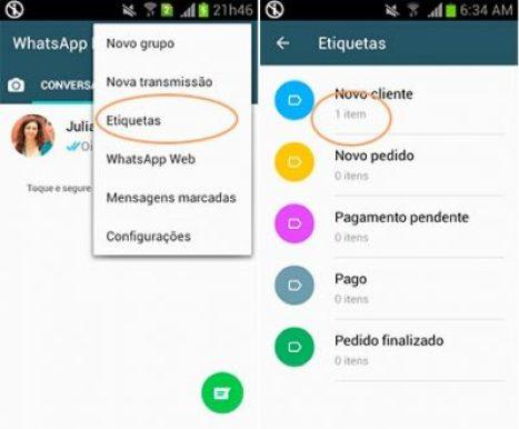 Tecnología: Ahora los mensajes en WhatsApp podrán ser etiquetados 2