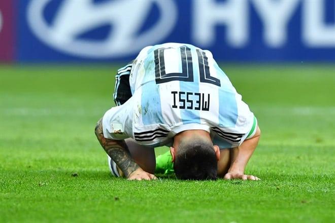 Fin del sueño: Argentina eliminada de La copa del mundo.