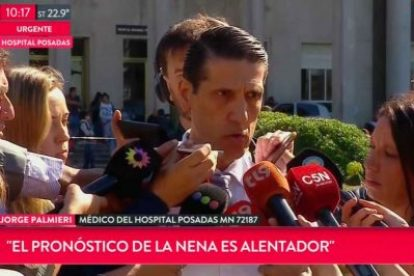 Renunció Palmieri, un director de la cúpula del Hospital Posadas 1
