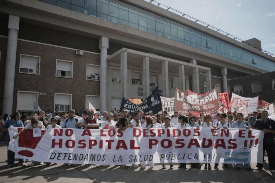 Nuevos despidos en el Hospital Posadas