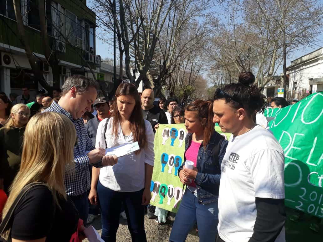 Marcha de las Organizaciones sociales al HCD de Ituzaingò