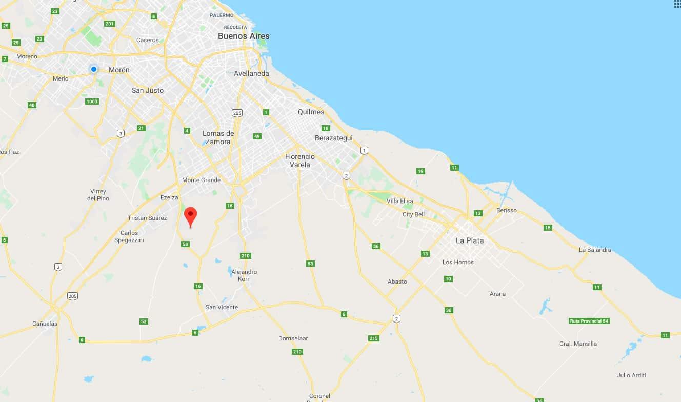Un sismo de 3,8 grados de magnitud se produjo en la zona sur del Gran Buenos Aires