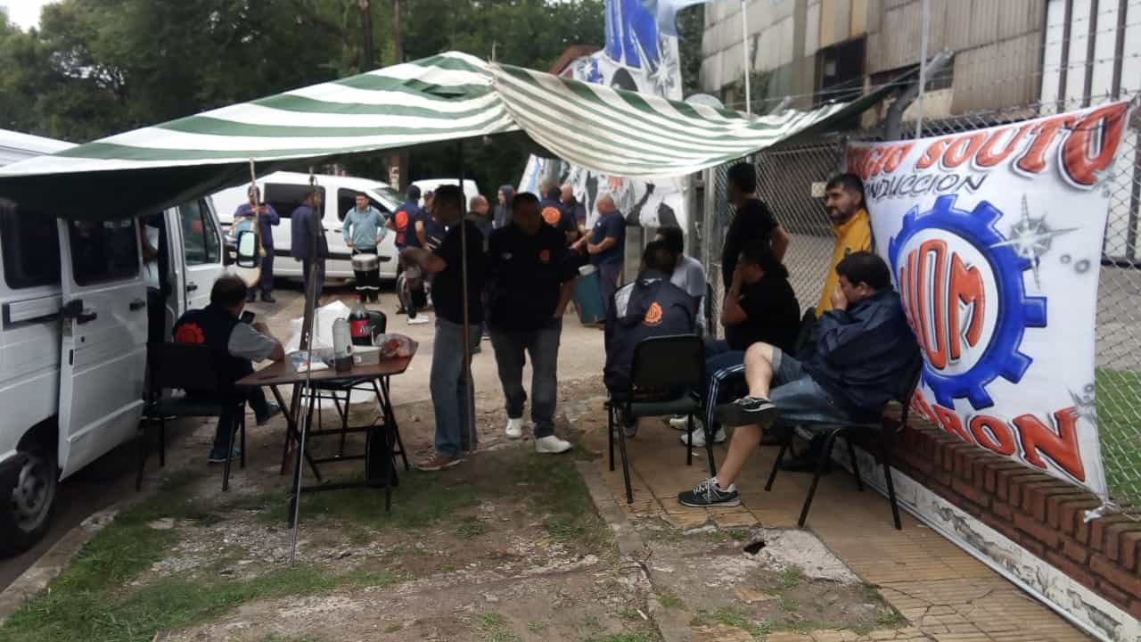 Ituzaingó: dictan conciliación obligatoria por el despido de un obrero de la Curvo Sold
