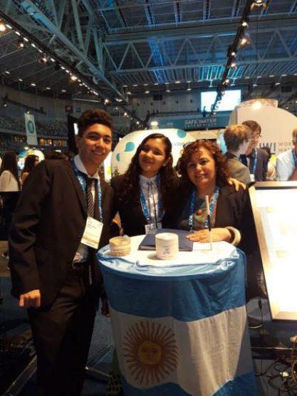 Orgullo Ituzainguenese: Los alumnos de la Técnica N°1 regresan al País luego de participar en el Premio Nobel del Agua 6