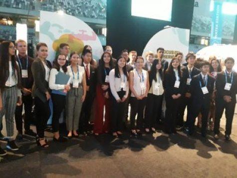 Orgullo Ituzainguenese: Los alumnos de la Técnica N°1 regresan al País luego de participar en el Premio Nobel del Agua 5