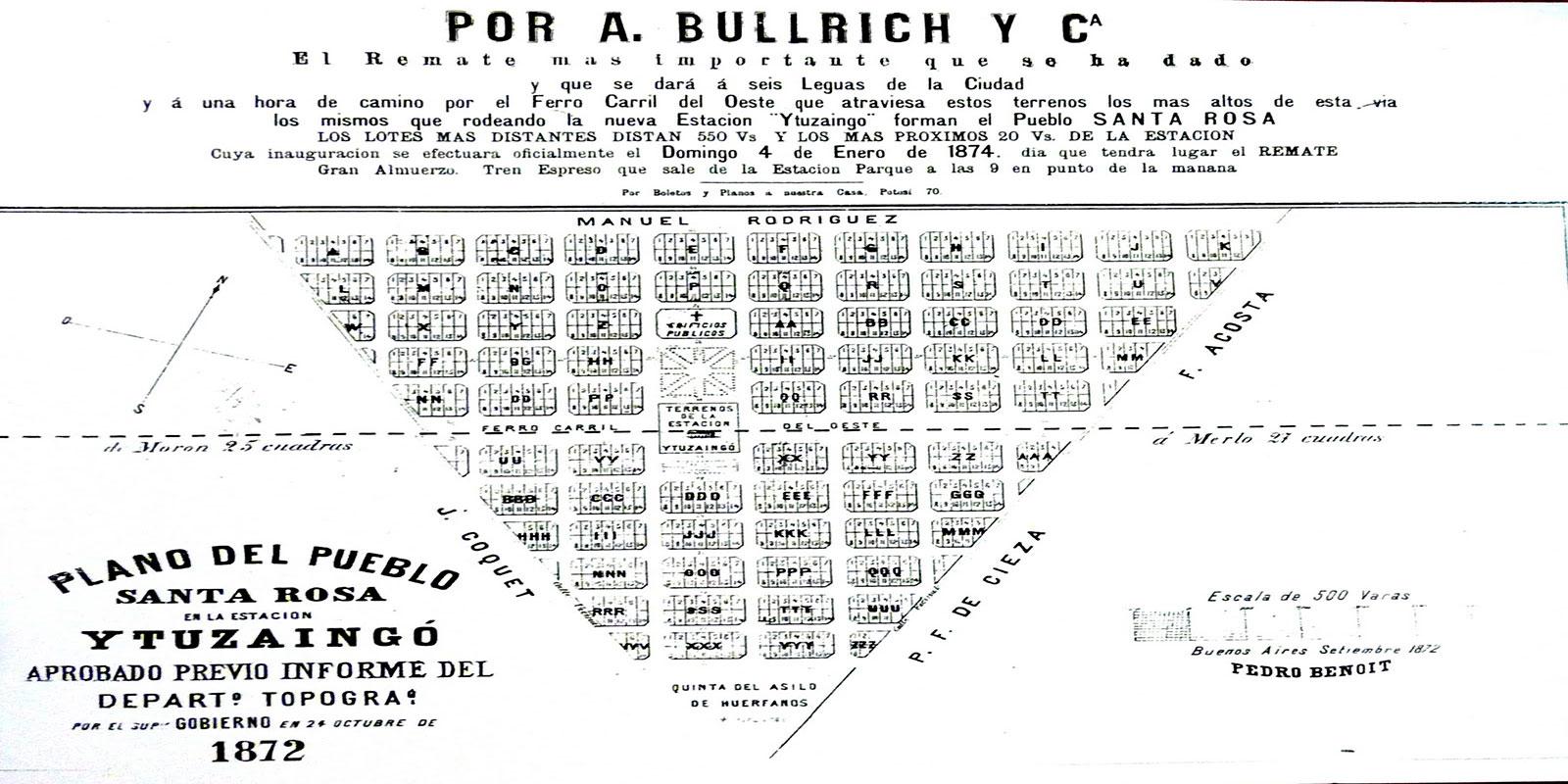 147 años de Ituzaingó: Los negocios inmobiliarios detrás de la fundación de la ciudad