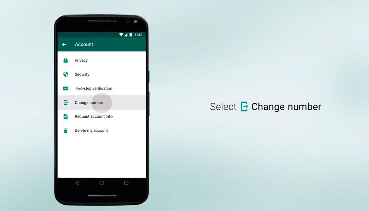 Como mantener los chats y los contactos de WhatsApp si cambiaste el numero de celular