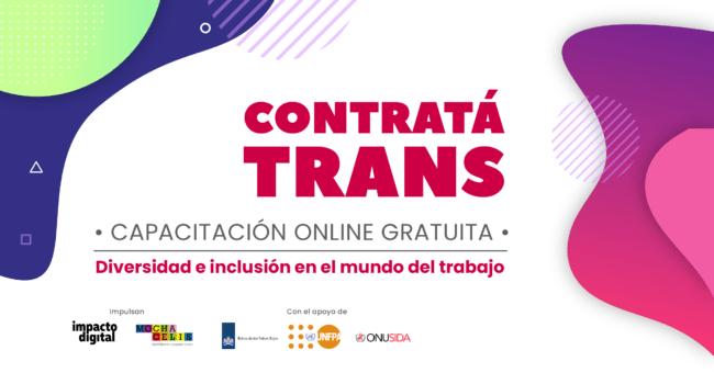 Contratá Trans: El proyecto que promueve la inclusión laboral en géneros disidentes 2
