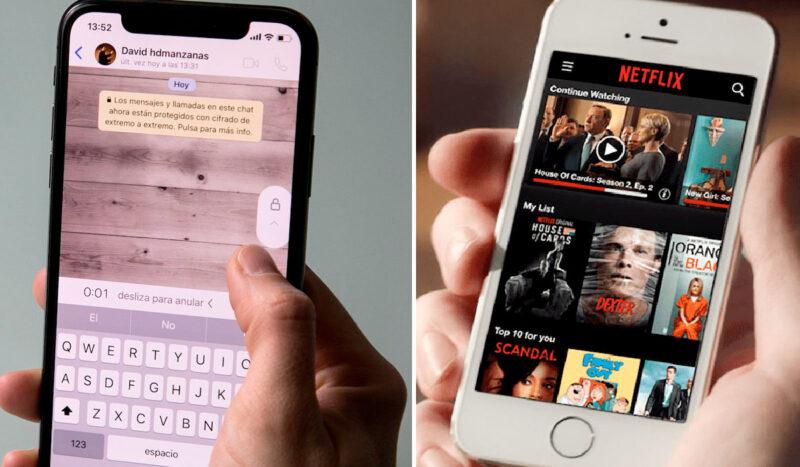 Ahora se puede ver Netflix a través de Whatsapp