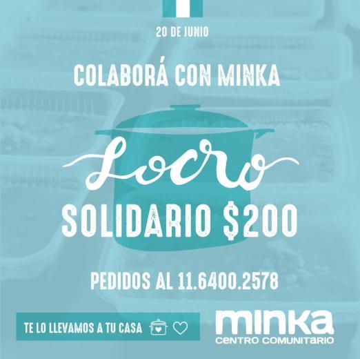 El centro comunitario Minka organiza un locro solidario para el 20 de junio 1