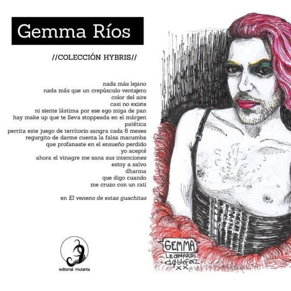 'El veneno de estas guachitas': literatura disidente por Gemma Ríos 1