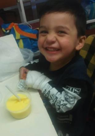 El desesperado pedido de Eric: tiene 2 años y necesita un corazón urgente 2