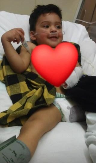 El desesperado pedido de Eric: tiene 2 años y necesita un corazón urgente 1