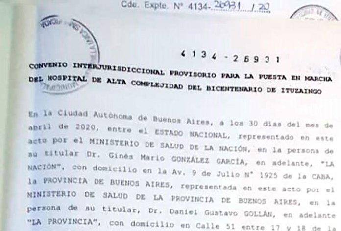 Se aprobó el convenio del Hospital para convertirlo en un nosocomio para enfermos agudos y de alta complejidad 1