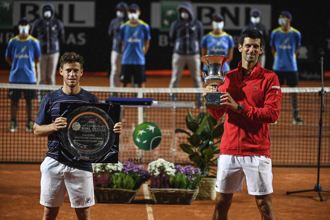 Djokovic le puso fin a la ilusión del Peque Schwartzman