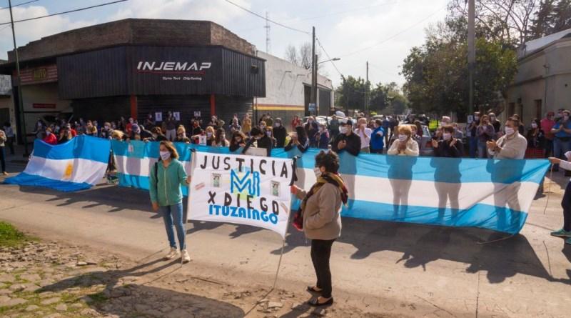 Multitudinaria movilización en reclamo de Justicia por Diego Roda a 4 años de ser asesinado