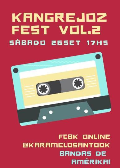 Llega el Kangrejo Fest Vol. 2, el Festival Latino Internacional Online y gratuito desde Argentina 1
