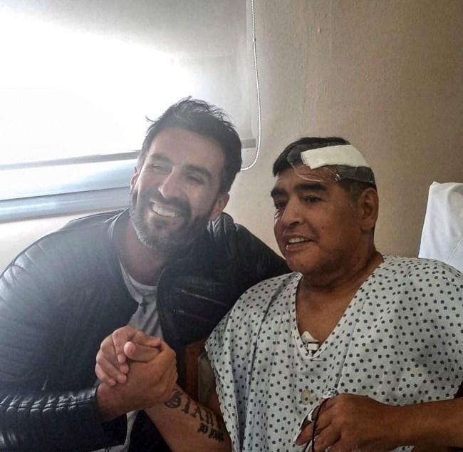 Diego Maradona recibió el alta médica 1