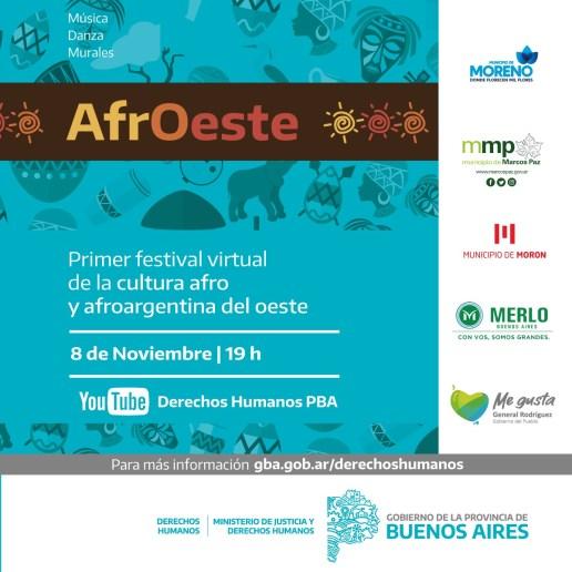 Se inaugura en Morón un mural colectivo por el Día de los afroargentinos 2