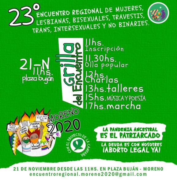 Encuentro Regional de Mujeres: Se realiza una nueva edición en la Plaza Buján de Moreno 2
