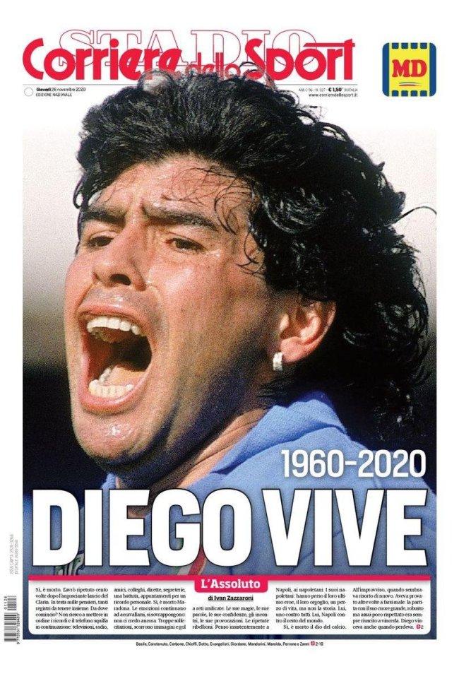El mundo rendido a los pies de Diego 1