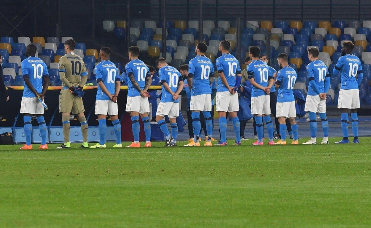 El Homenaje del Napoli a Diego Maradona