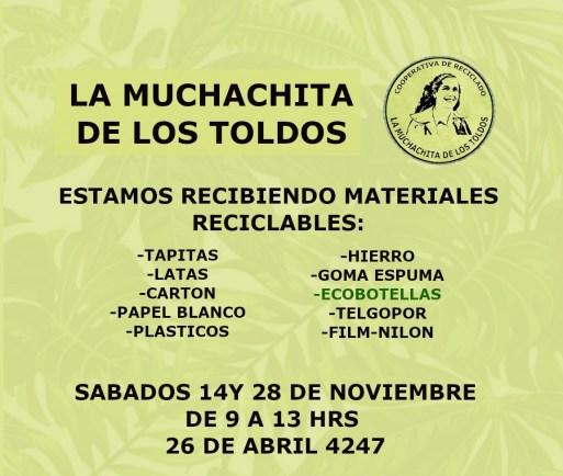 """Ituzaingó ya tiene su primer """"destino sustentable"""" para recibir materiales reciclables 1"""