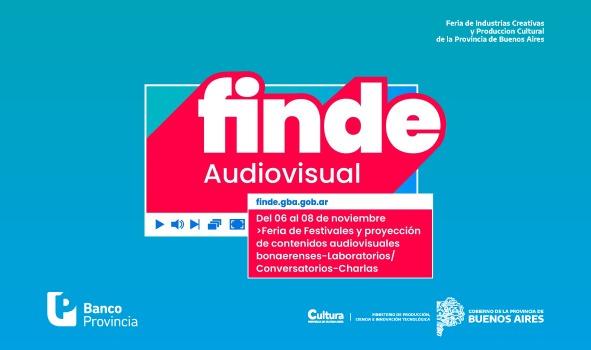FINDE Audiovisual: Una nueva edición de la feria virtual promovida por el gobierno bonaerense