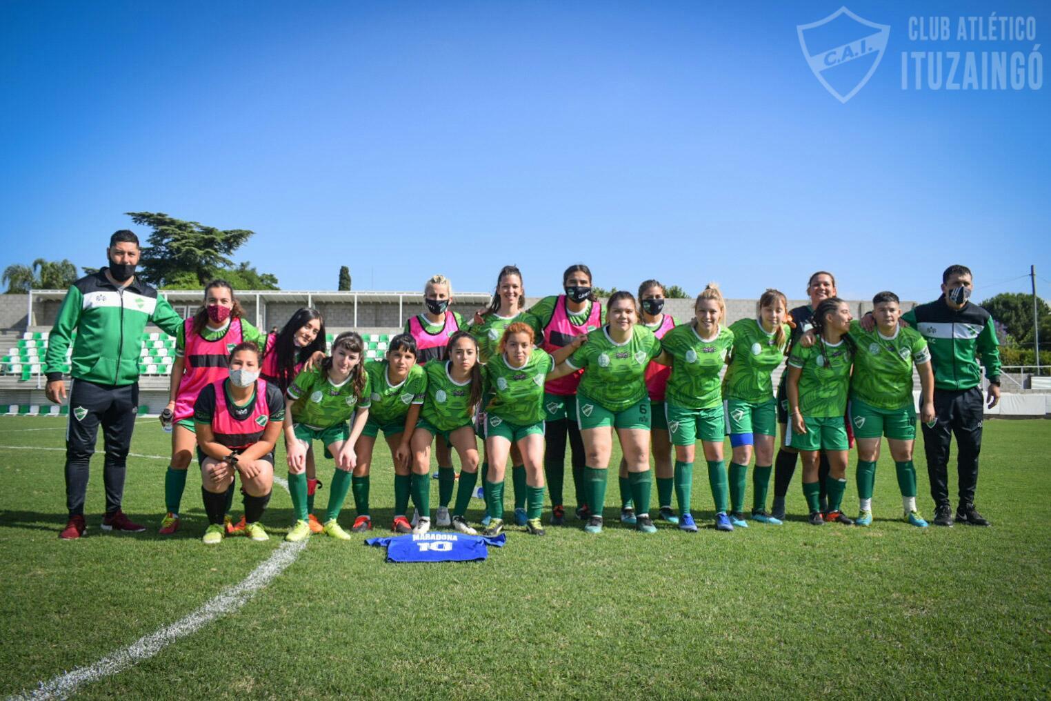 Fútbol femenino: El CAI sufrió una dura goleada de local