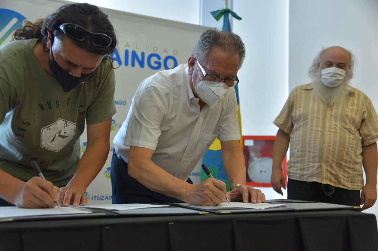 Ituzaingó: Avanza a paso firme la Cooperativa de reciclado y prevén incorporar personal