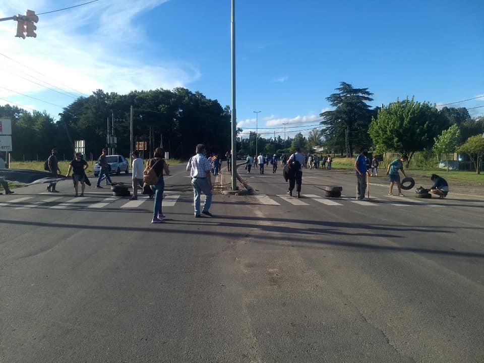 Vecinos de La Reja protestan por la instalación de una planta de residuos, próxima a construirse