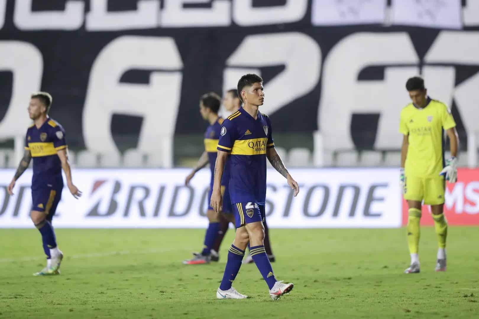 Boca jugó un mal partido y quedó eliminado de la Libertadores