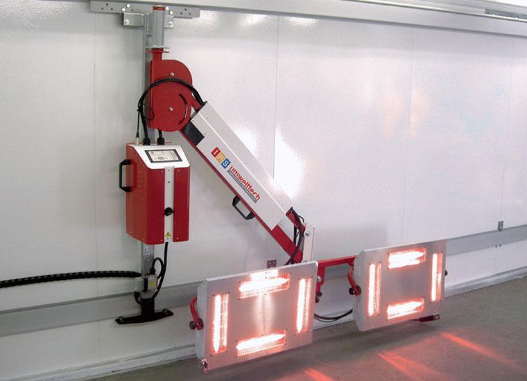 Infrarot-Trocknungs-System IRS STR7180