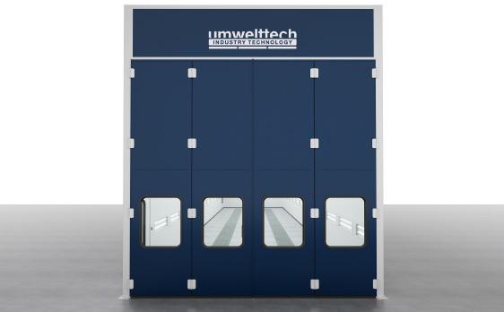 Industrielackieranlage - umwelttech