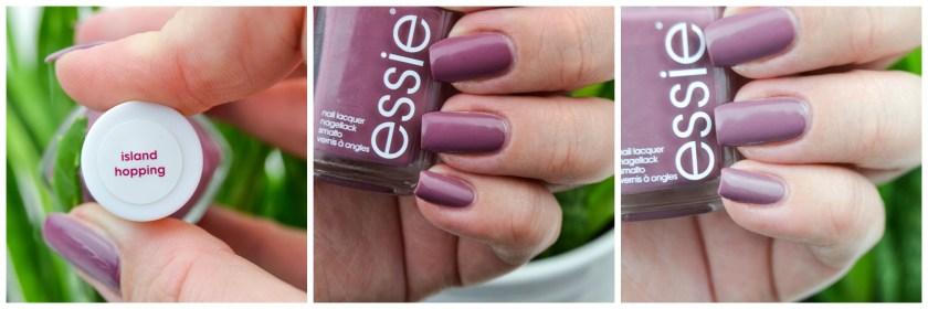 Essie, Swatch, Island Hopping, Swatches, Nagellack, Nailpolish, violett, lila, braun, Polish, Varnish