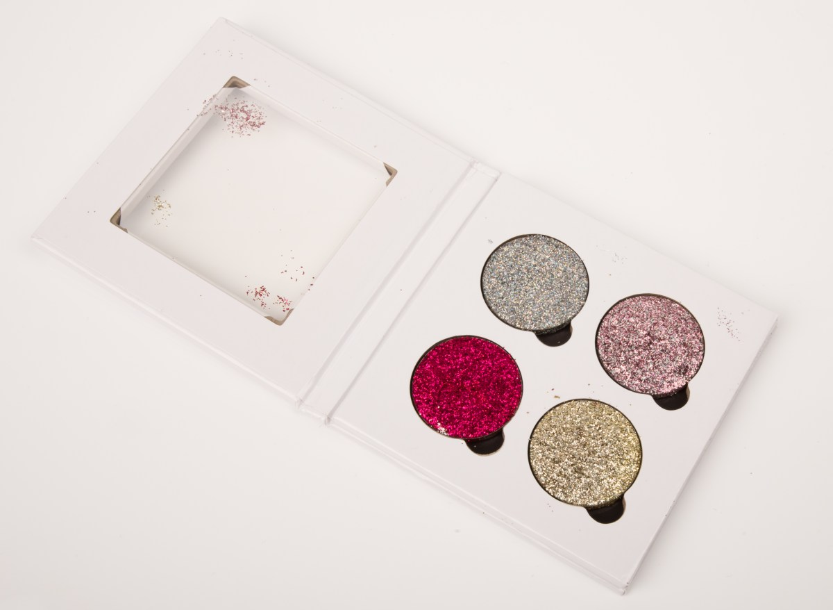 Glittereyes – Pressed Glitter Swatches