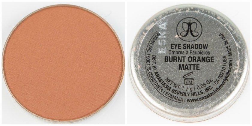 ABH, Anastasia Beverly Hills, Anastasia Beverly Hills Single Eyeshadow, Single, Eyeshadow, Lidschatten, Swatch, Swatches, Review, Erfahrung, Erfahrungen, Erfahrungsbericht, Burnt Orange