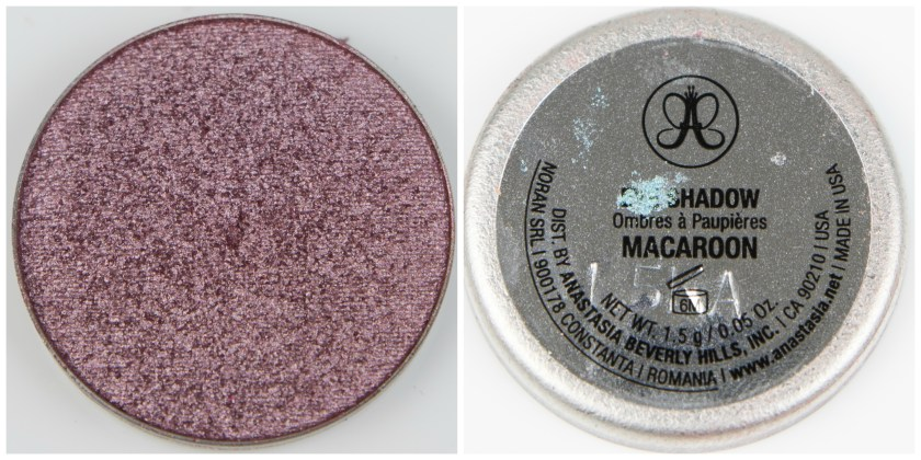 ABH, Anastasia Beverly Hills, Anastasia Beverly Hills Single Eyeshadow, Single, Eyeshadow, Lidschatten, Swatch, Swatches, Review, Erfahrung, Erfahrungen, Erfahrungsbericht, Macaroon
